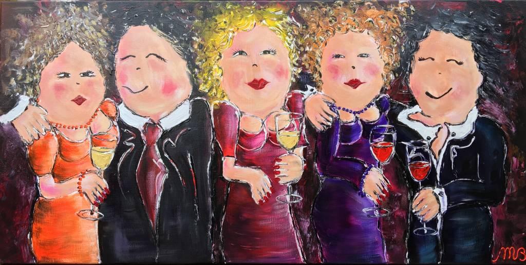 FEELGOOD schilderijen & producten Schilderij 'Party Party'