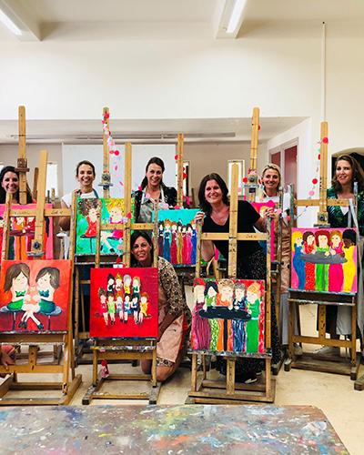 Workshops schilderen