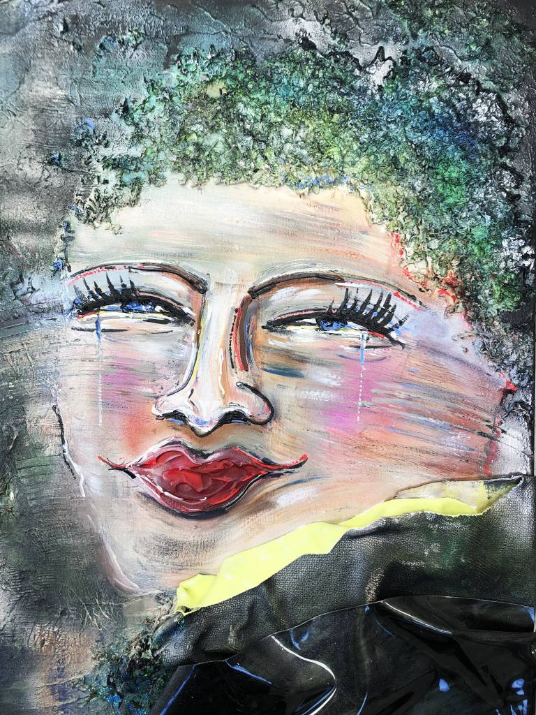 FEELGOOD schilderijen & producten canvas print 'NEW FACE'