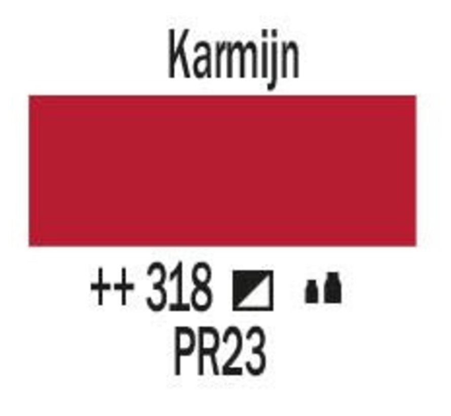 Amsterdam acrylverf 1 liter standard 318 Karmijn