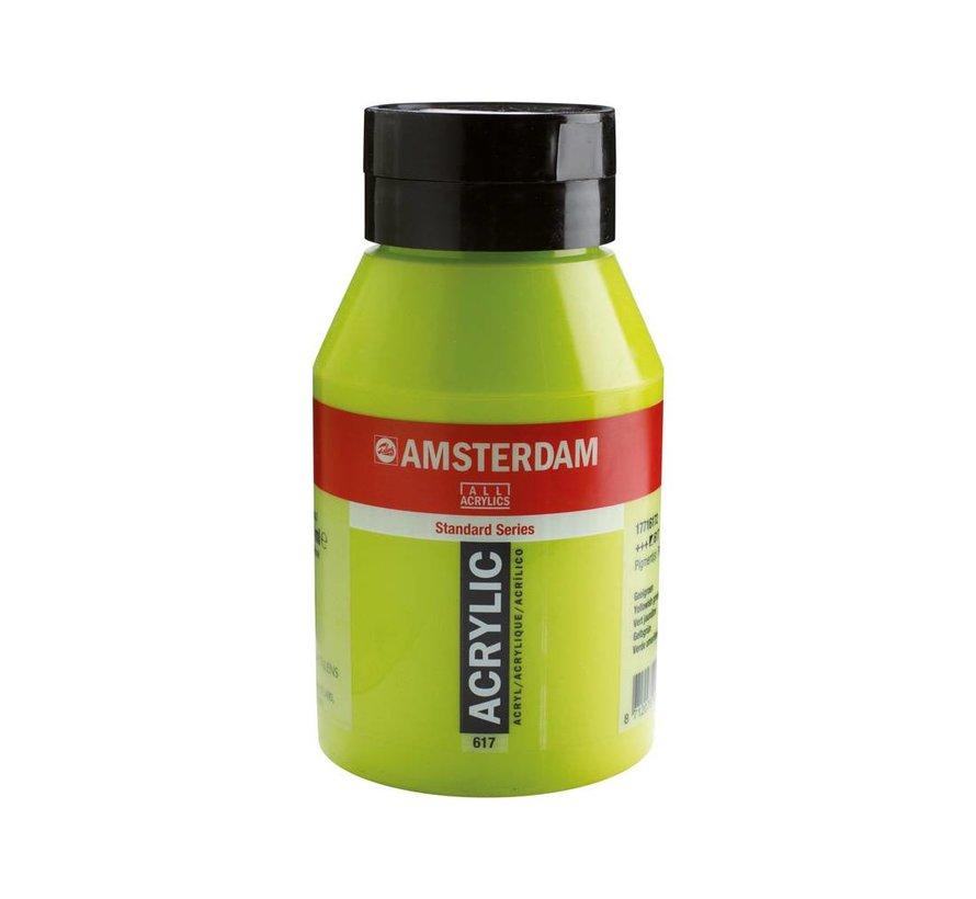 Amsterdam acrylverf 1 liter standard 617 Geelgroen