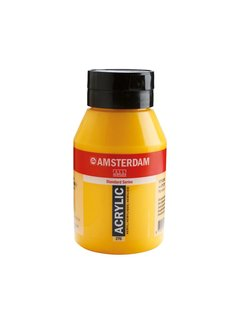 Amsterdam Amsterdam acrylverf 1 liter standard 270 Azogeel donker
