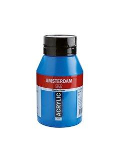 Amsterdam Amsterdam acrylverf 1 liter standard 572 Primaircyaan