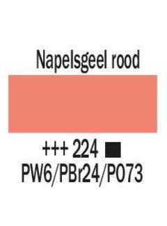 Amsterdam Amsterdam acrylverf 500ml standard 224 Napelsgeel rood
