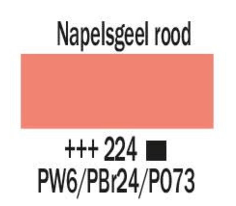 Amsterdam acrylverf 500ml standard 224 Napelsgeel rood