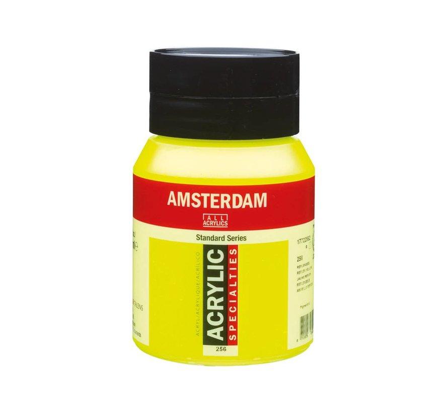 Amsterdam acrylverf 500ml standard 256 reflexgeel