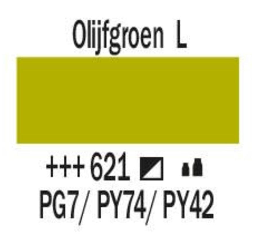 Amsterdam acrylverf 1 liter standard 621 Olijfgroen licht