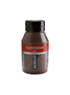 Amsterdam Amsterdam acrylverf 1 liter standard 409 Omber gebrand