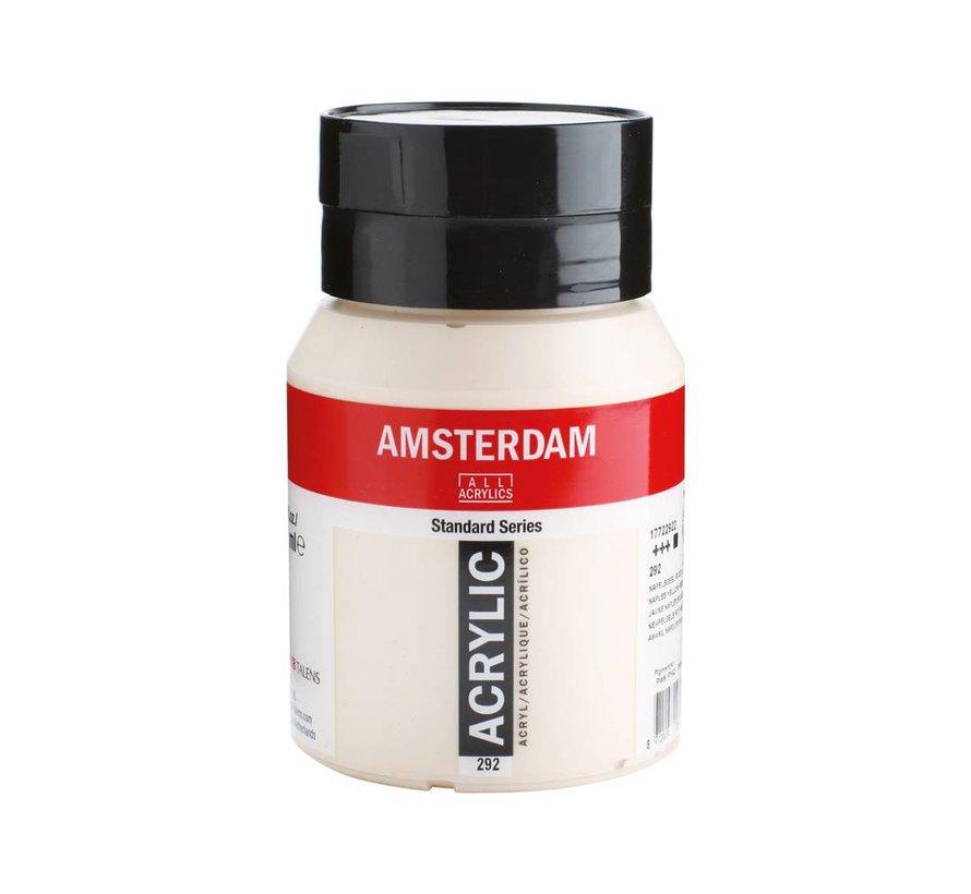Amsterdam acrylverf 500ml standard 292 Napelsgeel rood licht