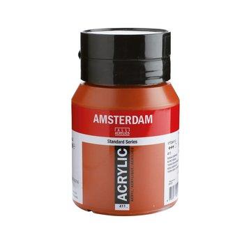 Amsterdam Amsterdam acrylverf 500ml standard 411 Sienna gebrand