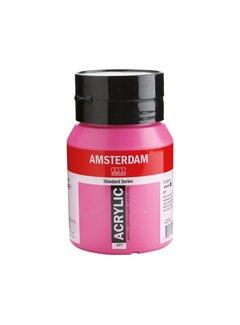 Amsterdam Amsterdam acrylverf 500ml standard 577 Permanentrood violet licht