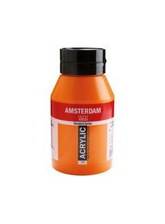 Amsterdam Amsterdam acrylverf 1 liter standard 276 Azo oranje