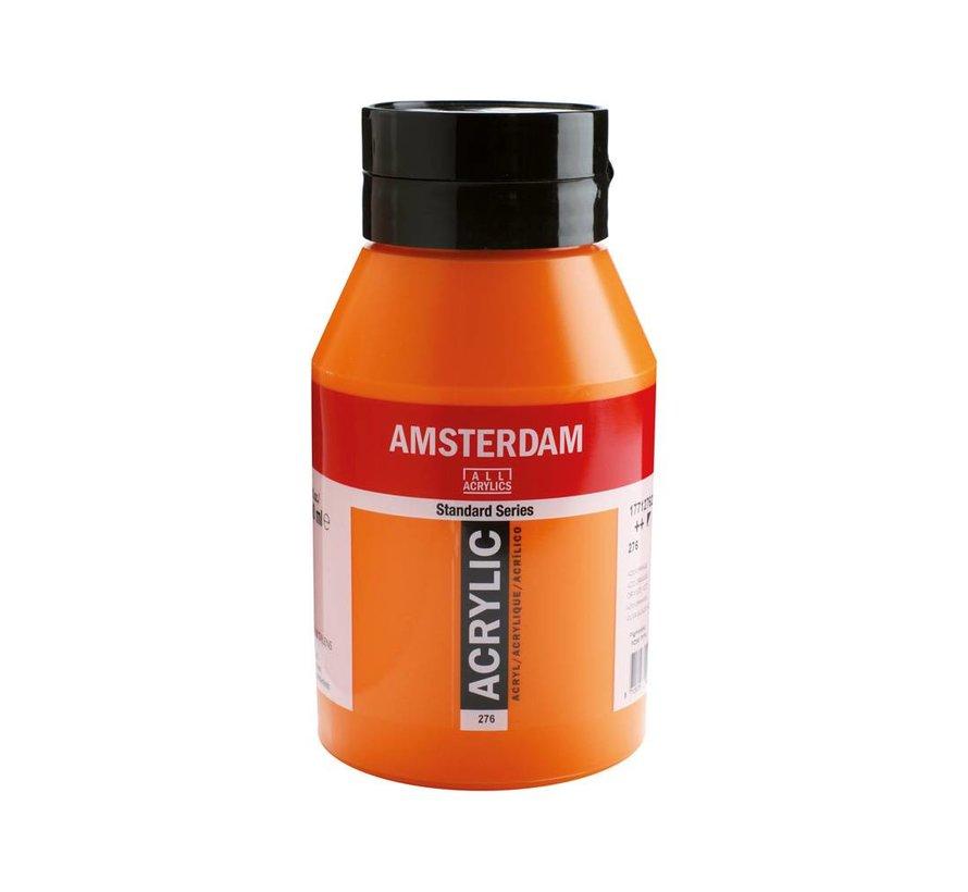 Amsterdam acrylverf 1 liter standard 276 Azo oranje