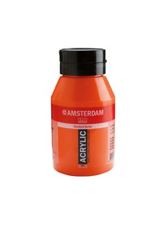 Amsterdam Amsterdam acrylverf 1 liter standard 311 Vermiljoen