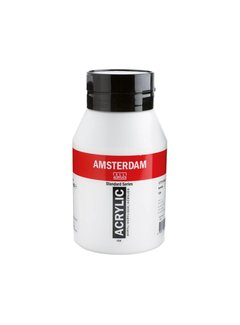 Amsterdam Amsterdam acrylverf 1 liter standard 104 Zinkwit