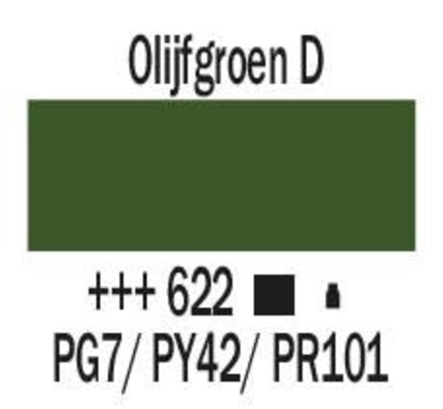 Amsterdam acrylverf 500ml standard 622 Olijfgroen donker