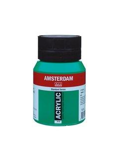 Amsterdam Amsterdam acrylverf 500ml standard 619 Permanentgroen donker