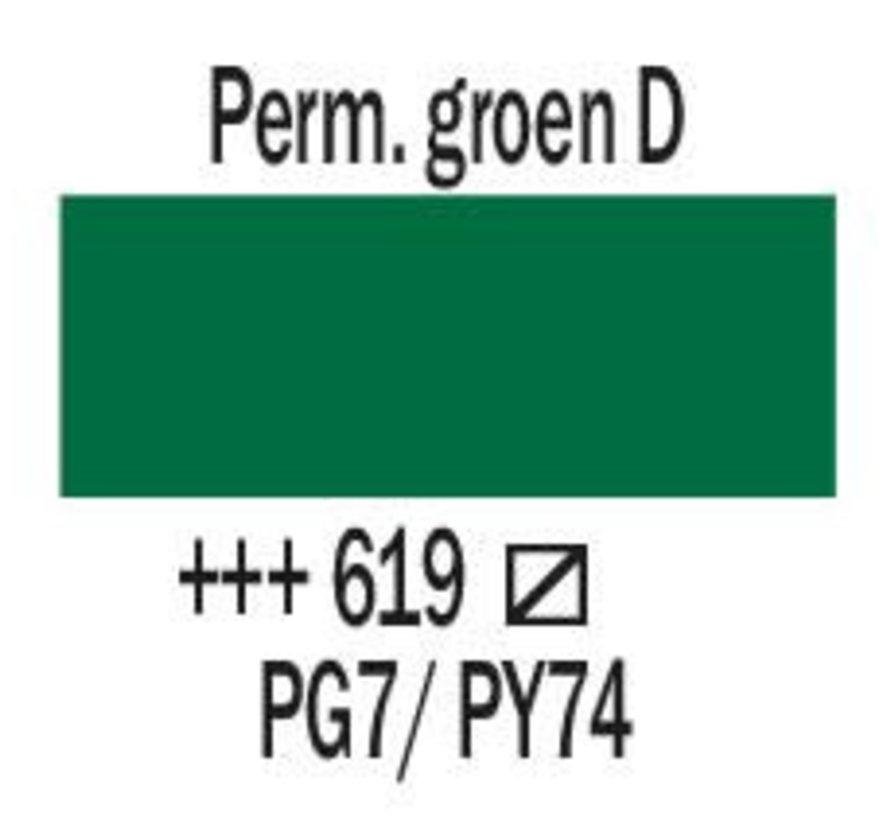 Amsterdam acrylverf 500ml standard 619 Permanentgroen donker