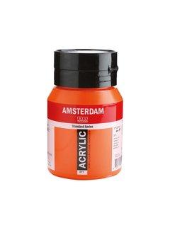 Amsterdam Amsterdam acrylverf 500ml standard 311 Vermiljoen