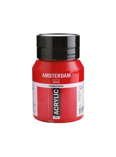 Amsterdam Amsterdam acrylverf 500ml standard 318 Karmijn