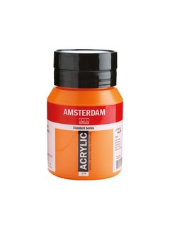 Amsterdam Amsterdam acrylverf 500ml standard 276 Azo oranje