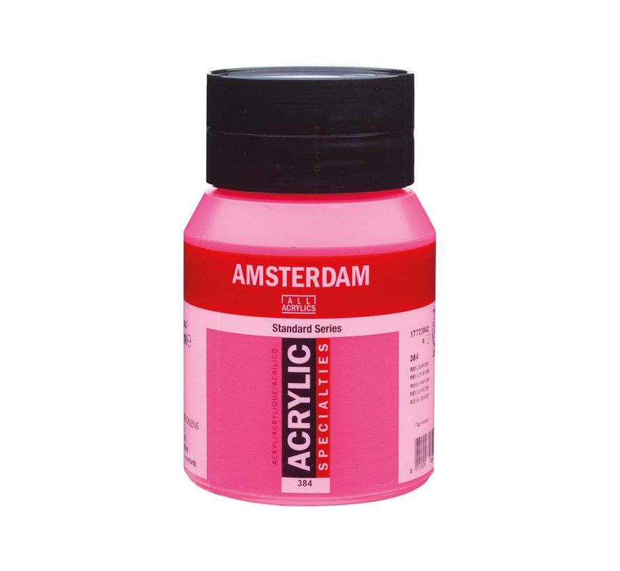 Amsterdam acrylverf 500ml standard 384 reflexrose