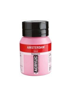 Amsterdam Amsterdam acrylverf 500ml standard 385 quinacridone rose licht