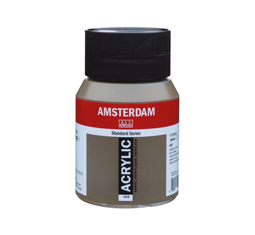 Amsterdam acrylverf 500ml standard 408 Omber Naturel