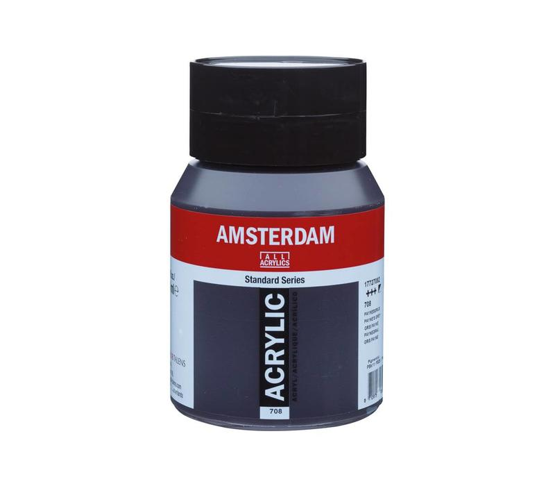 Amsterdam acrylverf 500ml standard 708 Paynesgrijs