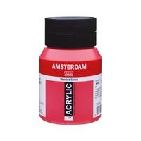 Amsterdam acrylverf 500ml standard 317 Transparantrood middel
