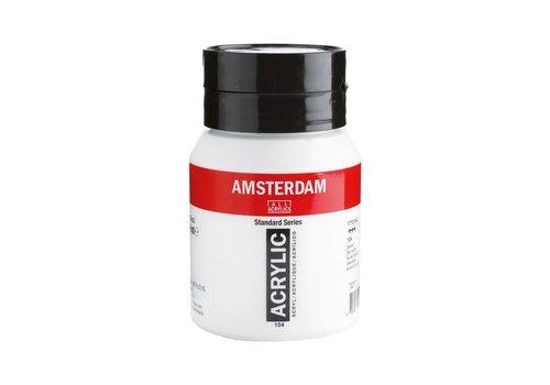 Amsterdam Amsterdam acrylverf 500ml standard 104 Zinkwit
