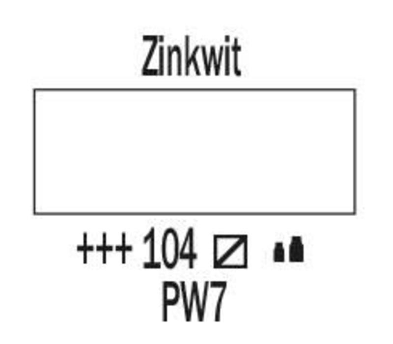 Amsterdam acrylverf 500ml standard 104 Zinkwit
