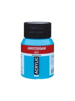 Amsterdam Amsterdam acrylverf 500ml standard 522 Turkooisblauw