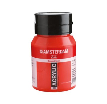 Amsterdam Amsterdam acrylverf 500ml standard 396 Naftolrood middel
