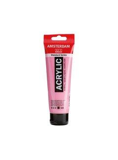 Amsterdam Amsterdam acrylverf 120ml standard 385 quinacridone rose licht
