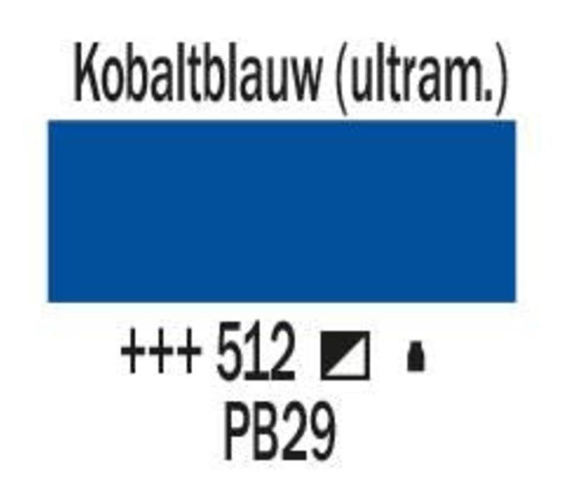 Amsterdam acrylverf 120ml standard 512 Kobaltblauw ultramarijn