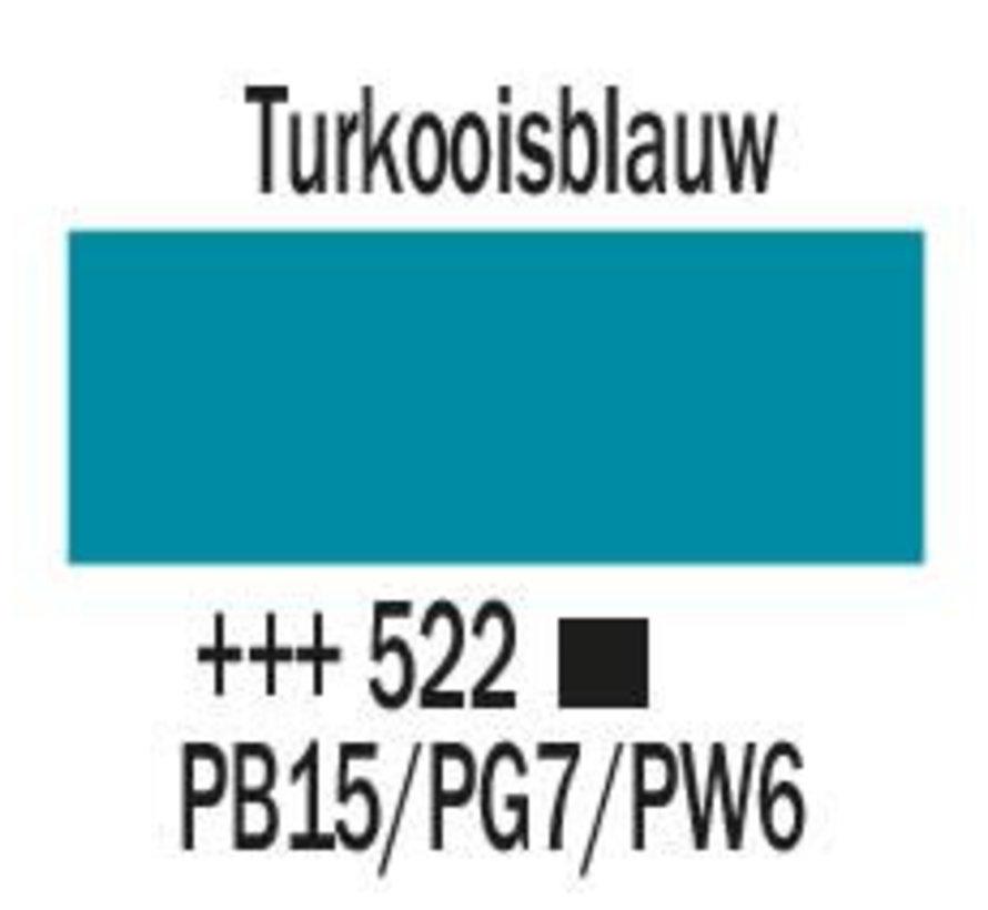 Amsterdam acrylverf 120ml standard 522 Turkooisblauw