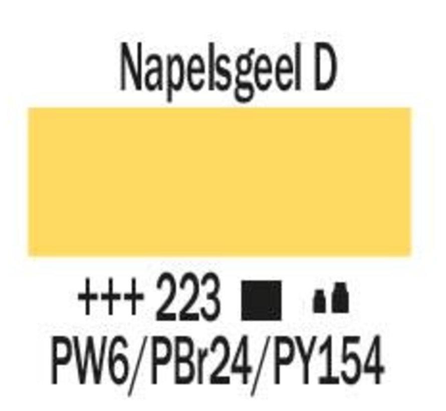 Amsterdam acrylverf 120ml standard 223 Napelsgeel donker
