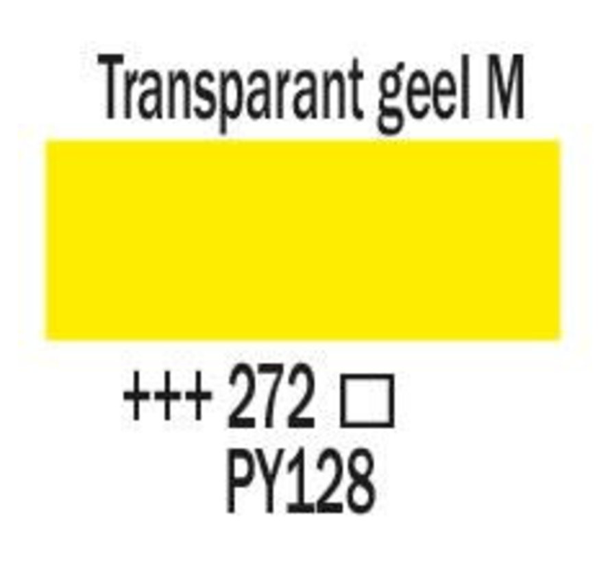 Amsterdam acrylverf 120ml standard 272 Transparantgeel middel