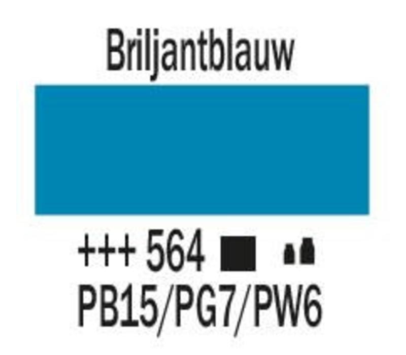 Amsterdam acrylverf 1 liter standard 564 Briljantblauw