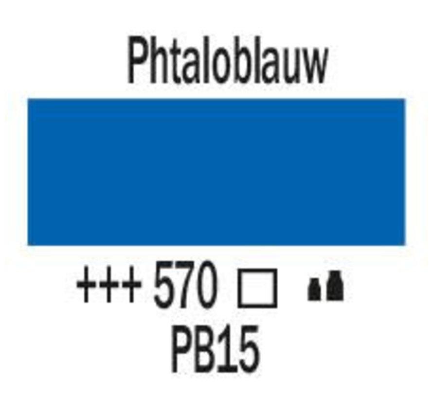 Amsterdam acrylverf 120ml standard 570 Phtaloblauw