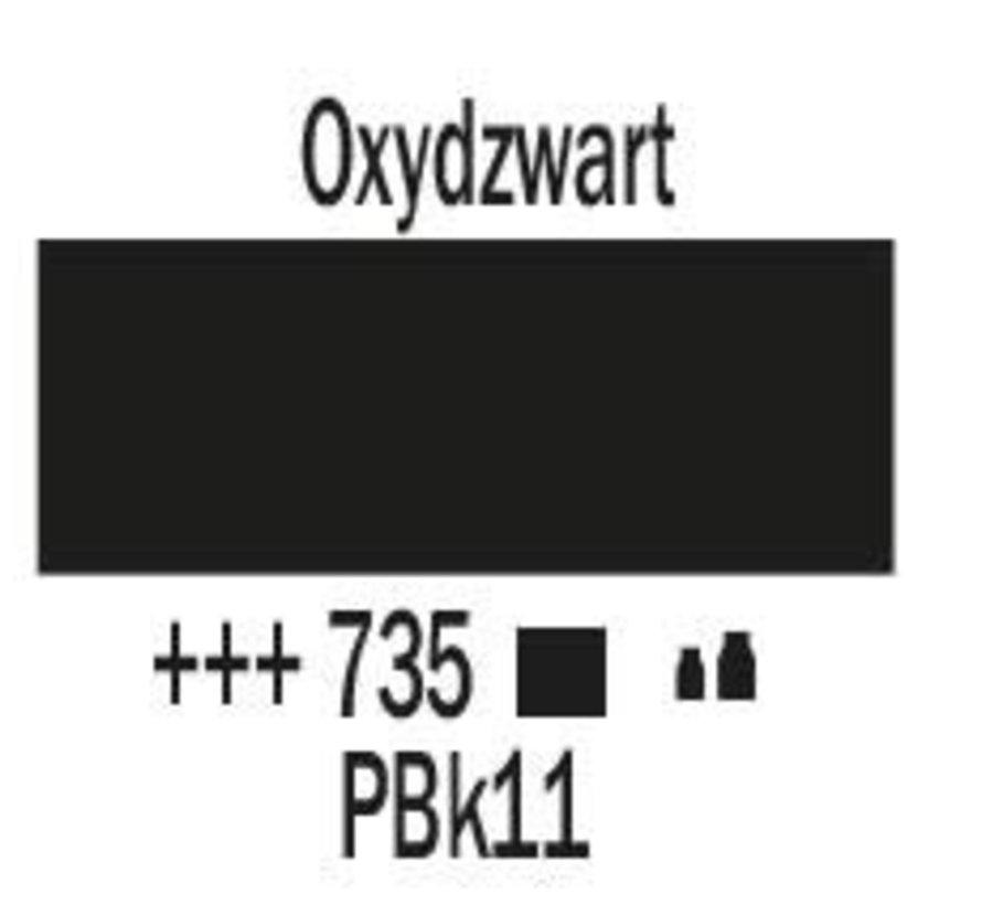 Amsterdam acrylverf 120ml standard 735 Oxydzwart