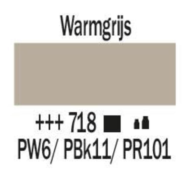 Amsterdam acrylverf 1 liter standard 718 Warmgrijs