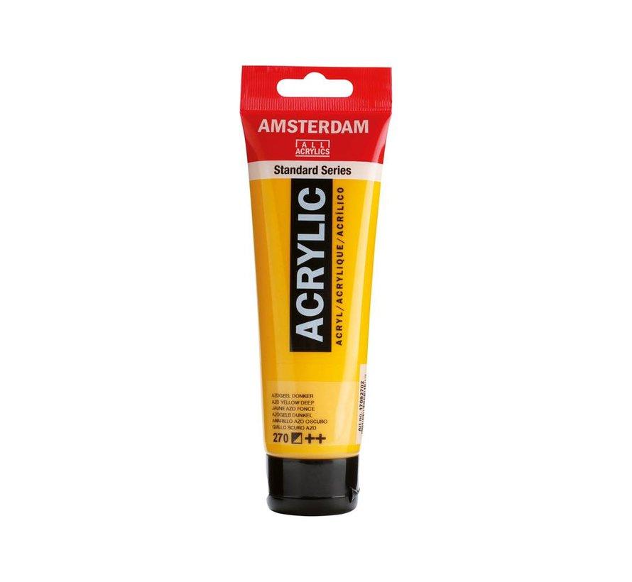 Amsterdam acrylverf 120ml standard 270 Azogeel donker