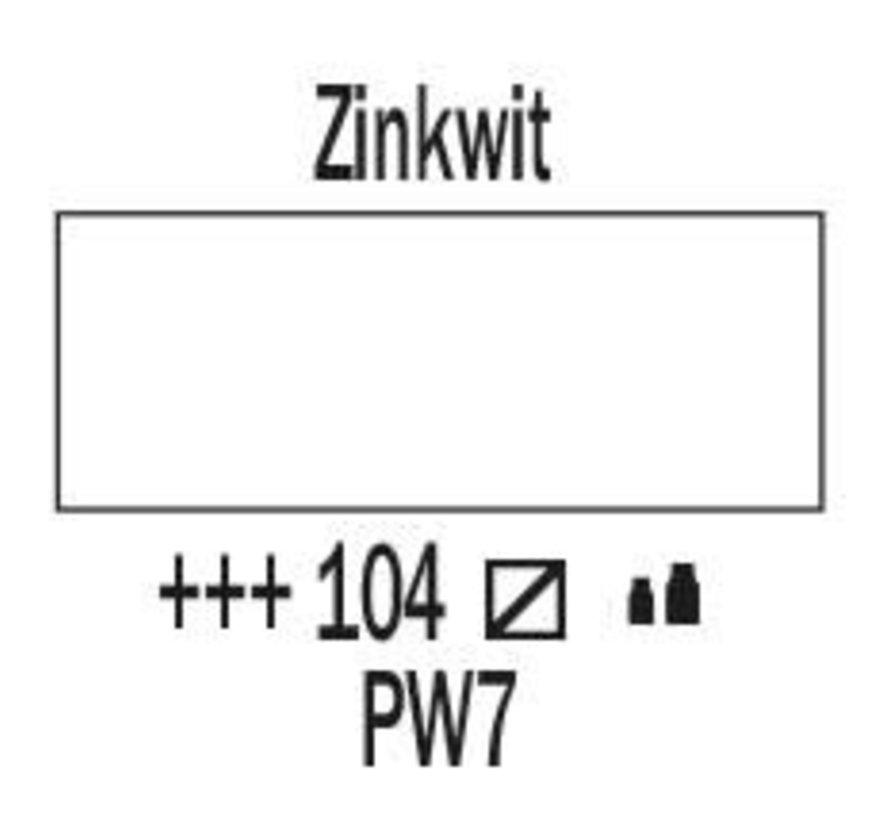 Amsterdam acrylverf 120ml standard 104 Zinkwit
