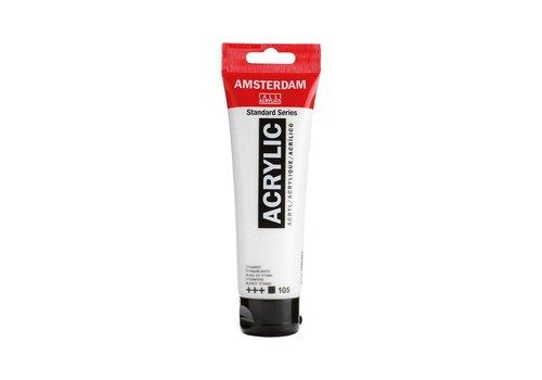 Amsterdam Amsterdam acrylverf 120ml standard 105 Titaanwit