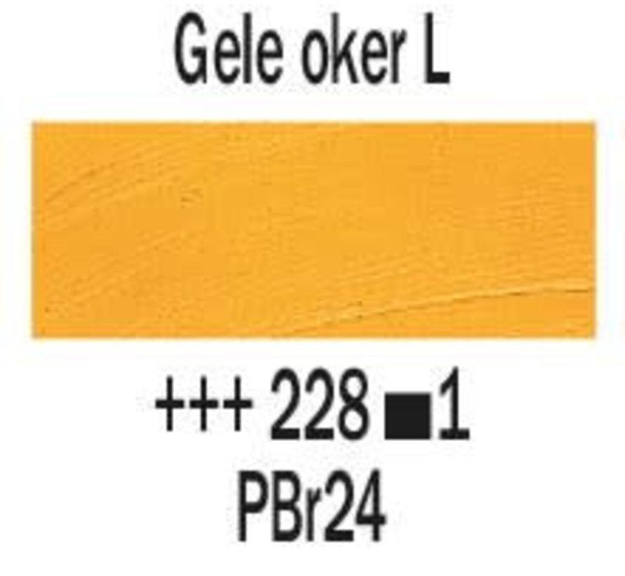 Rembrandt 40ml olieverf 228 Gele oker licht