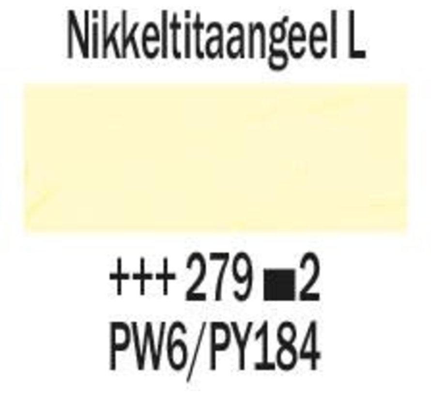 Rembrandt 40ml olieverf 279 Nikkeltitaangeel licht