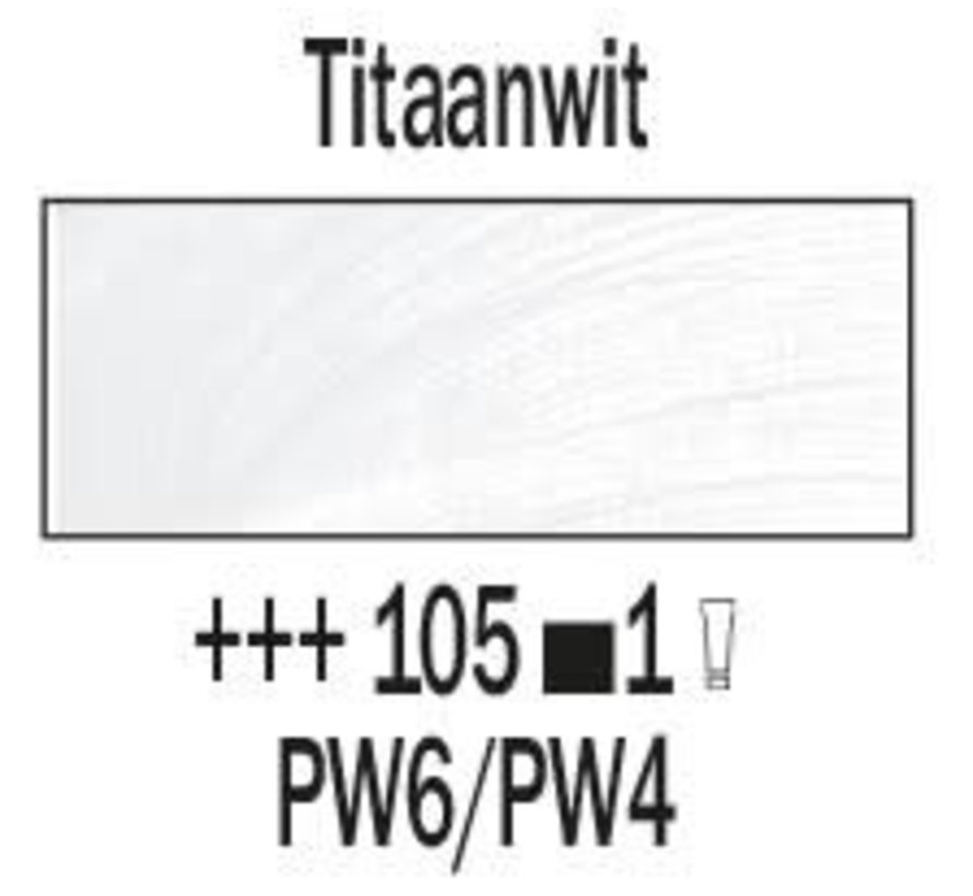 Rembrandt 40ml olieverf 105 Titaanwit