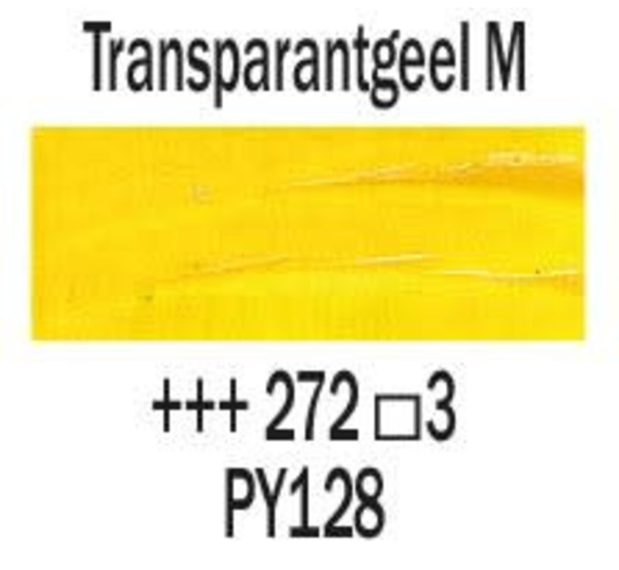 Rembrandt 40ml olieverf 272 Transparantgeel middel